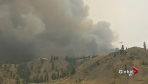 Wildfire smoke concerns in Cache Creek