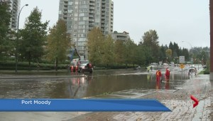 Metro Vancouver streets deluged by heavy rain