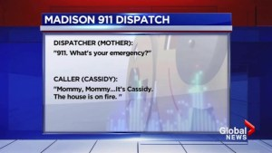 911 operator receives fire call from her own daughter