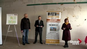 Lethbridge group hopes 'The Bentley' can help revitalize downtown core