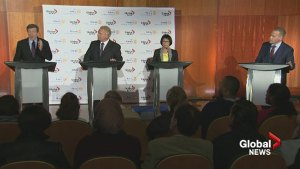 Global News Toronto mayoral debate highlights