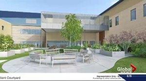 Saskatchewan Hospital takes shape