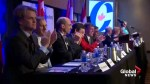 13 of the 14 Conservative leadership candidates speak in Calgary