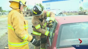 Aspiring female firefighter extinguishes stereotypes