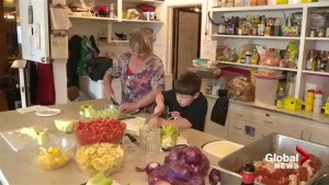 Bouctouche, N.B. boy helping feed homeless in honour of late mother