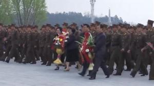 North Korea holds massive ceremony in honour of Kim Il Sung and Kim Jong Il