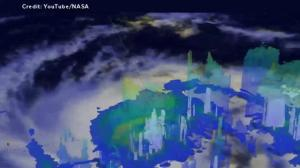 NASA releases 3D animation showing the size and scale of Hurricane Seymour