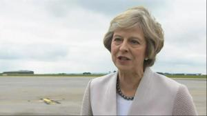 Theresa May excited by Nissan's decision to boost it's production in Sunderland