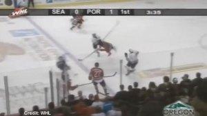 Brutal headshot hit on Jets prospect nets WHL player 7-game suspension