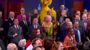 """The Colbert Report"" goes off the air with epic finale"
