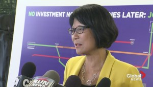 Olivia Chow unveils transit plan