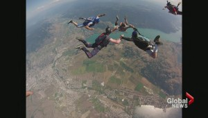 Dozens free fall in Vernon