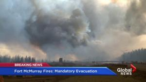 Largest mandatory  fire evacuation in Alberta history underway in Fort McMurray