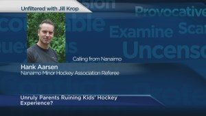 Referee speaks about parents conduct during amateur games