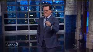 Stephen Colbert reflects on Donald Trump's first 100 days: 'It sure seems longer'