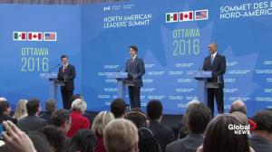 Trudeau jokes about Obama's 'impending retirement'; Obama offers thumbs up