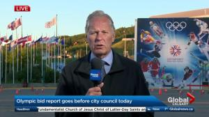 Olympic bid report goes before city council on Monday
