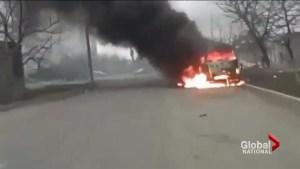 Russian-back Ukraine separatists new offensive kills 30 people