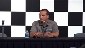 Greg Zipadelli of Stewart-Haas racing addresses Tony Stewart pulling out of NASCAR race