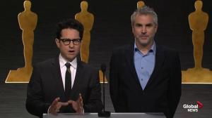 First Oscars nominations announced by Abrams and Cuarón