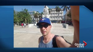 Another Canadian traveller detained in Cuba