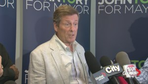 John Tory disappointed in Olivia Chow trying to distance herself from Kinsella comments