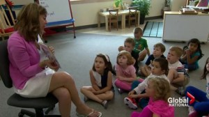 All-day kindergarten classes in Ontario