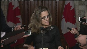 Chrystia Freeland 'cautiously optimistic' about prospects for CETA deal despite no vote
