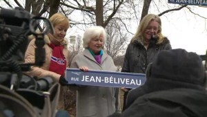 Controversy in Longueuil surrounding Jean-Béliveau Street