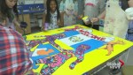 Youth create murals to welcome athletes for 2015 Pan Am Games
