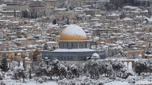 Jerusalem looks like post card after heavy snowfall