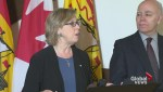 Elizabeth May criticizes energy projects