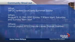 Community Events: NFDC ranked ScotDarts Summer Sizzle