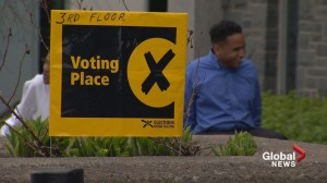 Nova Scotia advance voting numbers up