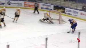 Saskatoon Blades beat visiting Brandon Wheat Kings 3-2 in OT