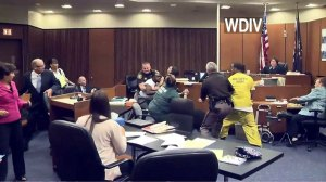 Brawl erupts in Detroit courtroom during sentencing of couple charged with death of 3-year-old