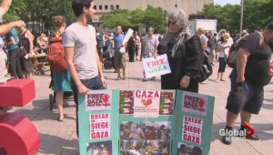 Montrealers show support for Palestine