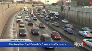 Montreal has 5 of Canada's busiest roads: CAA