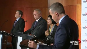 Tory, Ford, Chow debate 'neglect' of Scarborough