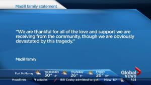 Family of Shannon Burgess release statement