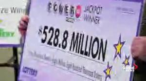 Powerball winners claim their portion of $1.6B prize