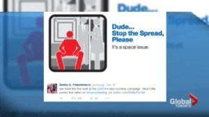 Stopping the spread of #Manspreading