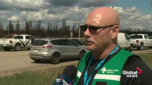 What went into getting Fort McMurray hospital's emergency room ready for re-entry?