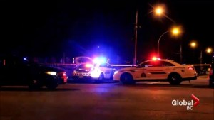 Drive by gang shooting in Surrey
