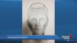 Sketch released of kidnapping suspect of Red Deer woman