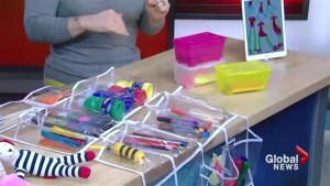 Pro tips on organizing all your kid's toys