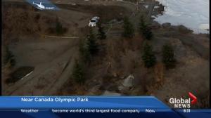 Suspicious death near Canada Olympic Park