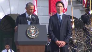 President Obama has never seen Americans so excited for a visit by a Canadian PM