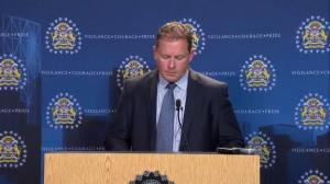 RAW: Calgary police on charges in Mylan Hicks homicide