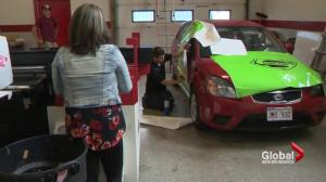 Moncton mom turns car into mobile ad for organ donation